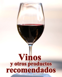Vinos y otros productos recomendados
